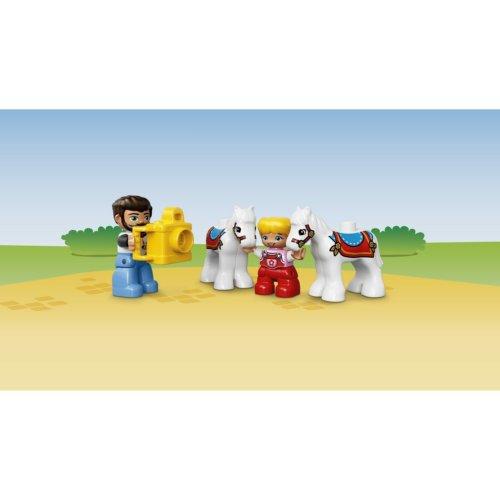 LEGO DUPLO Town Большой парк аттракционов