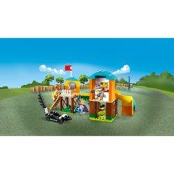 LEGO Toy Story 4 Приключения Базза и Бо Пип на детской площадке