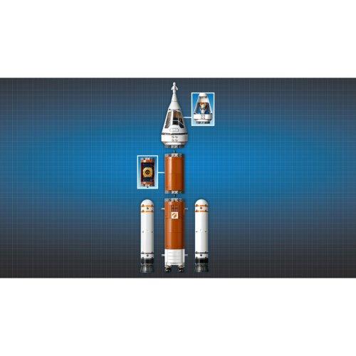 LEGO City Space Port Ракета для запуска в далекий космос и пульт управления запуском