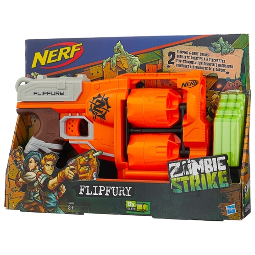 NERF Зомби страйк Переворот (Бластер)