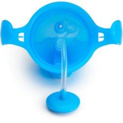 Munchkin поильник Click Lock с трубочкой и ручками Голубой 207 мл. 6+