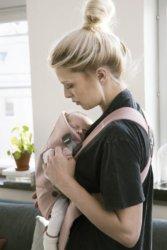 Babybjorn Рюкзак для новорожденных MINI Cotton Черный
