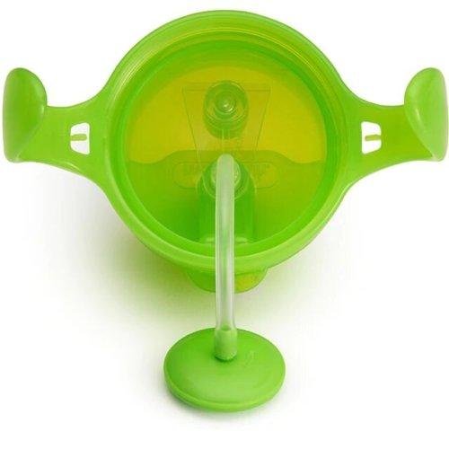 Munchkin поильник Click Lock с трубочкой и ручками Зеленый 207 мл. 6+