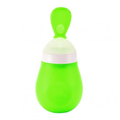 Munchkin ложка-бутылочка для первого прикорма зелёная 4+ 150 мл.