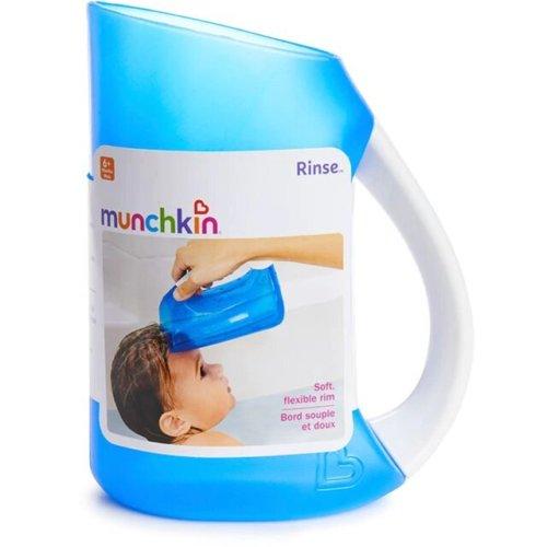 Munchkin мягкий кувшин голубой для мытья волос от 6 мес