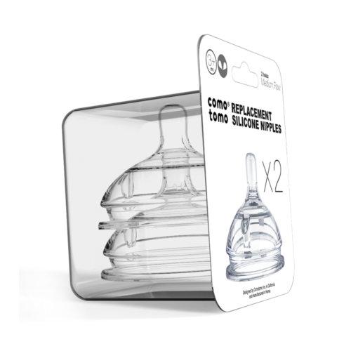 Comotomo набор сосок для бутылочки с 3 до 6 месяцев