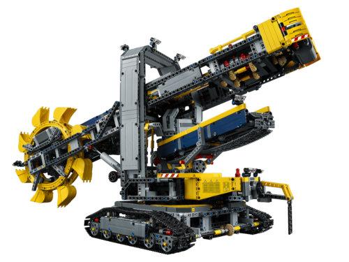 LEGO Technic Роторный экскаватор