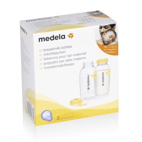 Medela контейнер-бутылочка для сбора грудного молока 250 мл. 2шт.