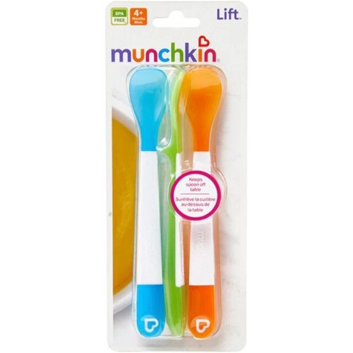 Munchkin ложки пластиковые 3 шт. 4+