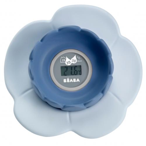 Beaba термометр цифровой для воздуха и воды Lotus цвет голубой