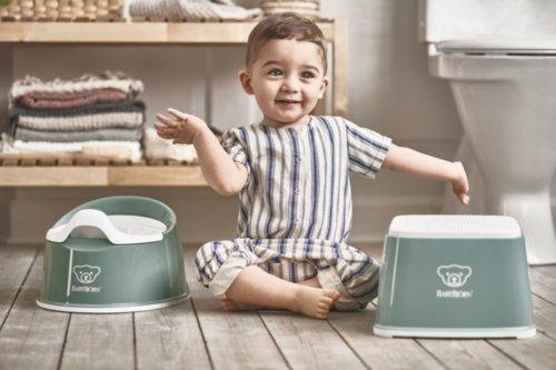 BabyBjorn горшок детский SMART зеленый