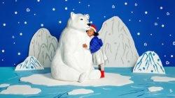 Munchkin поильник-непроливайка MIRACLE 360° ЭКО Арктический медведь 296 12+