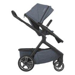 Nuna Demi Grow — это новая универсальная коляска, которая подходит для двойни, погодок или одного ребенка.