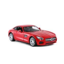 Машинка на радиоуправлении (На Батарейках) Rastar Mercedes AMG GT 1:14 Красная