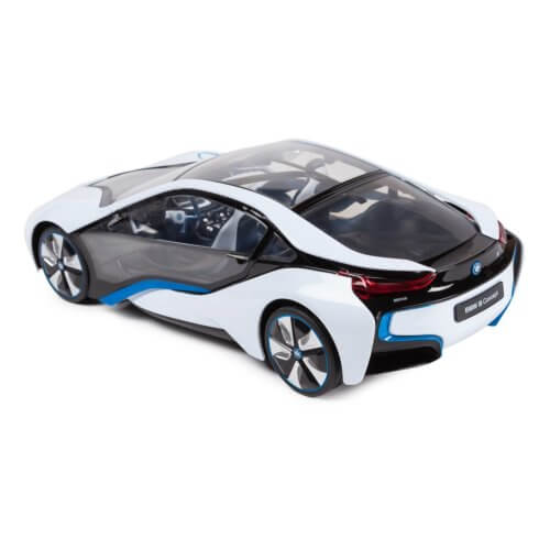 Машинка радиоуправляемая (На Батарейках) Rastar BMW i8 1:14 белая