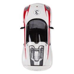 Машинка радиоуправляемая (На Батарейках) Rastar PORSCHE 918 SP 1:14 белая