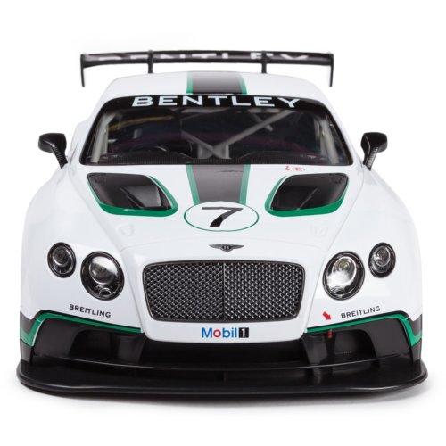 Машинка радиоуправляемая (На Батарейках) Rastar Bentley Continental GT3 1:14 белая