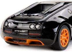 Машинка р/у (USB) Rastar Bugatti GS Vitesse 1:14 черная