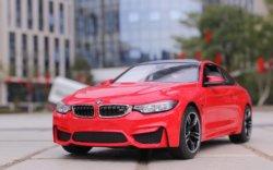 Машинка на радиоуправлении (На Батарейках) Rastar BMW M4 Coupe 1:14 Красная