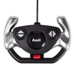 Машинка радиоуправляемая (На Батарейках) Rastar AUDI R8 1:14 серебряная