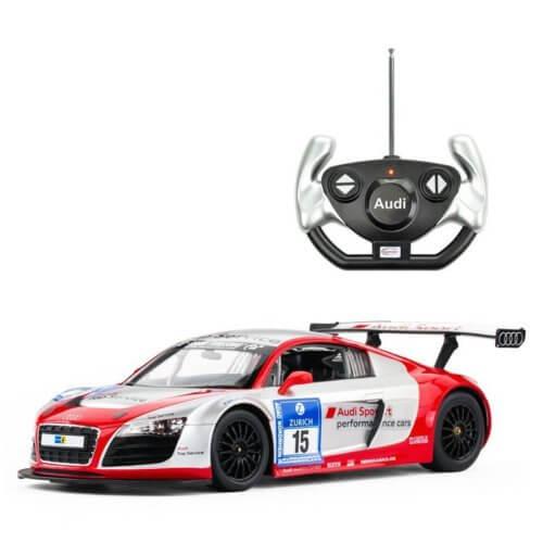 Машинка радиоуправляемая (На Батарейках) Rastar AUDI R8 1:14 performance