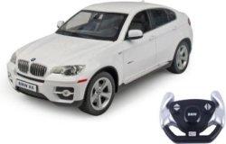 Машинка радиоуправляемая (На Батарейках) Rastar BMW X6 1:14 белая
