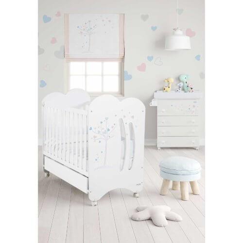 Micuna кроватка Aura в комплекте матрас