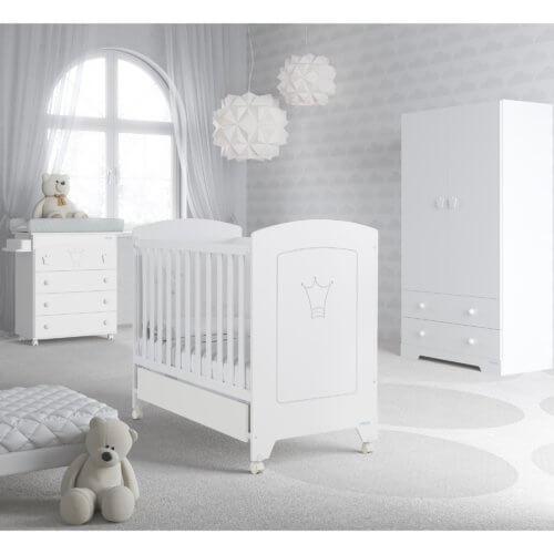 Micuna кроватка Valentina в комплекте матрас