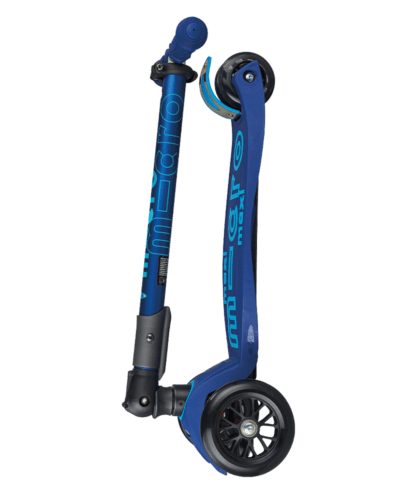 MICRO MAXI DELUXE LED SCOOTER: NAVY