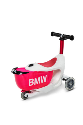 MICRO BMW MINI2GO БЕЛО-КРАСНЫЙ