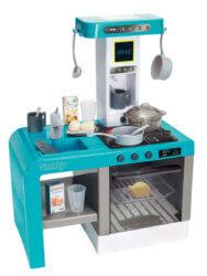 Кухня Smoby Tefal Cheftronic электронная с пузырьками, светом и звуком 22 акс.