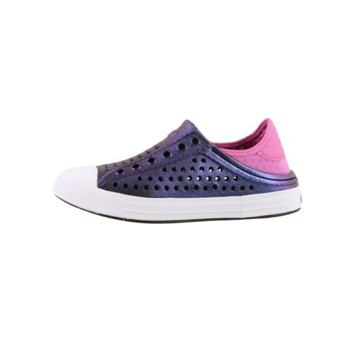 Слипоны для девочек Skechers Girl's Guzman Steps Purple/Hotpink