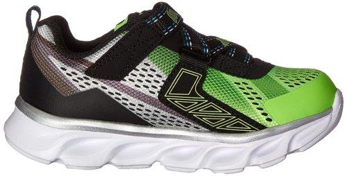Кроссовки для мальчиков Skechers Kids Boys' Hypno-Flash Loafer, Lime/Black