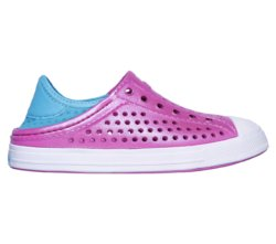 Слипоны для девочек Skechers Girl's Guzman Steps Hotpink/Turquoise