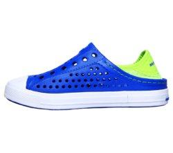 Слипоны для мальчиков Skechers Boys' Guzman Steps Blue/Lime