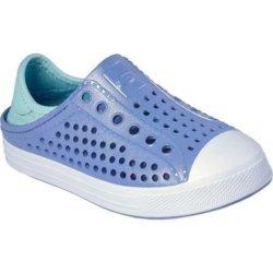 Слипоны для девочек Skechers Girl's Guzman Steps Lavender/Multi