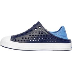 Слипоны для мальчиков Skechers Boys' Guzman Steps Navy/Blue