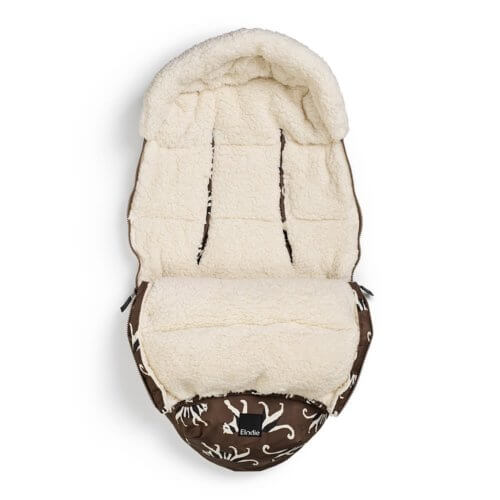 Elodie конверт — муфта в коляску — White Tiger