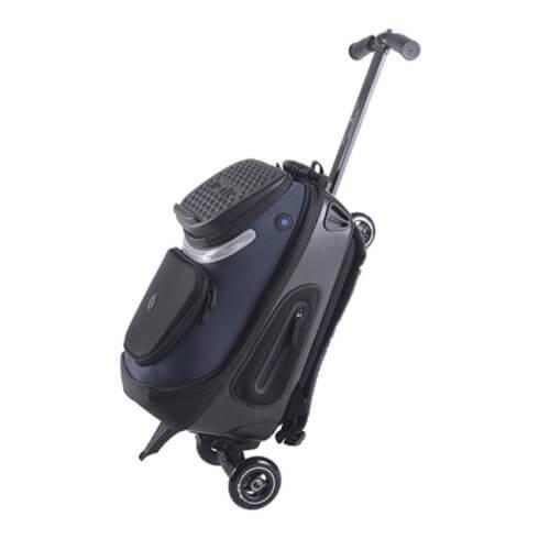 Рюкзак-самокат Micro Кикпэк черный