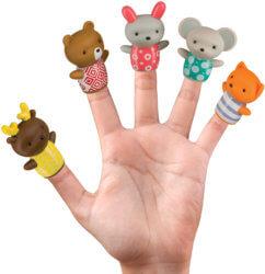Happy Baby Little Friends,Набор развивающих игрушек