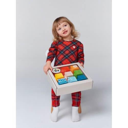 Happy Baby Кубики конструктор Funny Blocks