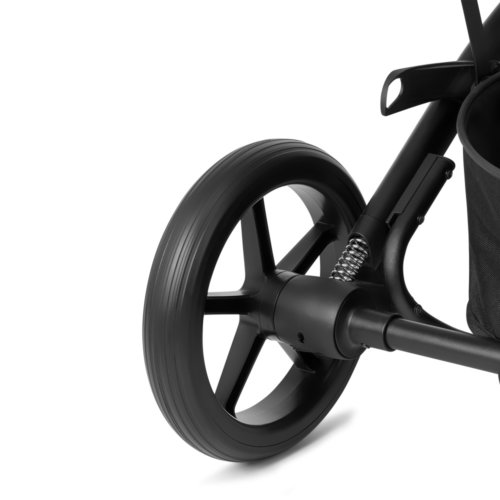 Cybex Коляска прогулочная Balios S Lux BLK Deep Black с дождевиком