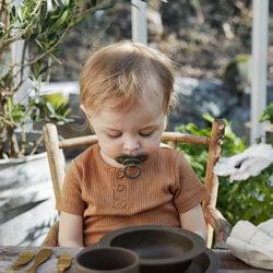 Elodie пустышка бамбук латексная — Chocolate от 3 месяцев