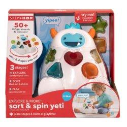 Skip Hop игрушка развивающая «Сортер Йети»