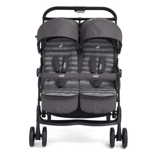 Joie коляска для двойни Aire Twin «Dark Pewter»