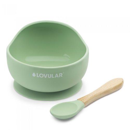 Lovular Умная силиконовая тарелка и ложка