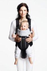 BabyBjorn Эрго-рюкзак Miracle черный/серый