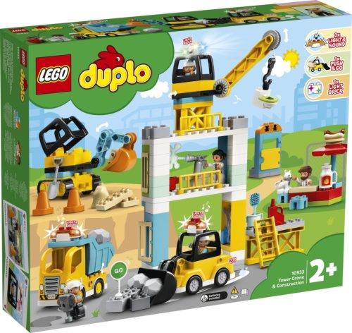 LEGO DUPLO Башенный кран на стройке