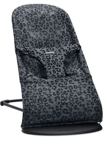 BABYBJORN кресло-шезлонг BLISS MESH Anthracite/Leopard