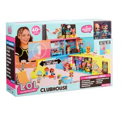 L.O.L surprise Clubhouse 40+сюрпризов и 2 куклы